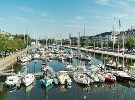 bassin de plaisance de Caen
